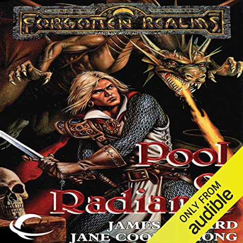 Pools of Radiance Audiobook By James M. Ward,                                                                                        Jane Cooper Hong cover art