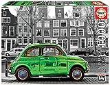 Educa- Coche en Ámsterdam Puzzle, Colore Vario, Sin talla, 18000