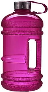 Botellas de agua deportivas de gran capacidad con tapa, 2,2