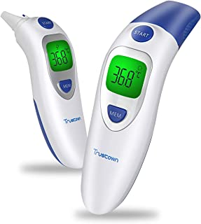 Trustown Medical Forehead and Ear Thermometer, Digital