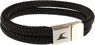 WAVEPIRATE Segeltau-Armband Tarifa ST Schwarz Männer Herren