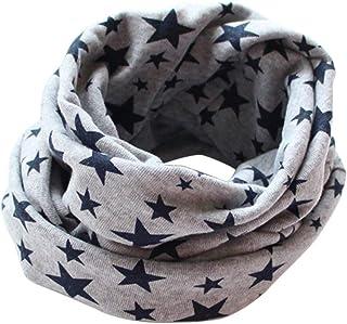 PULABO - Bufandas para niños, diseño de estrellas