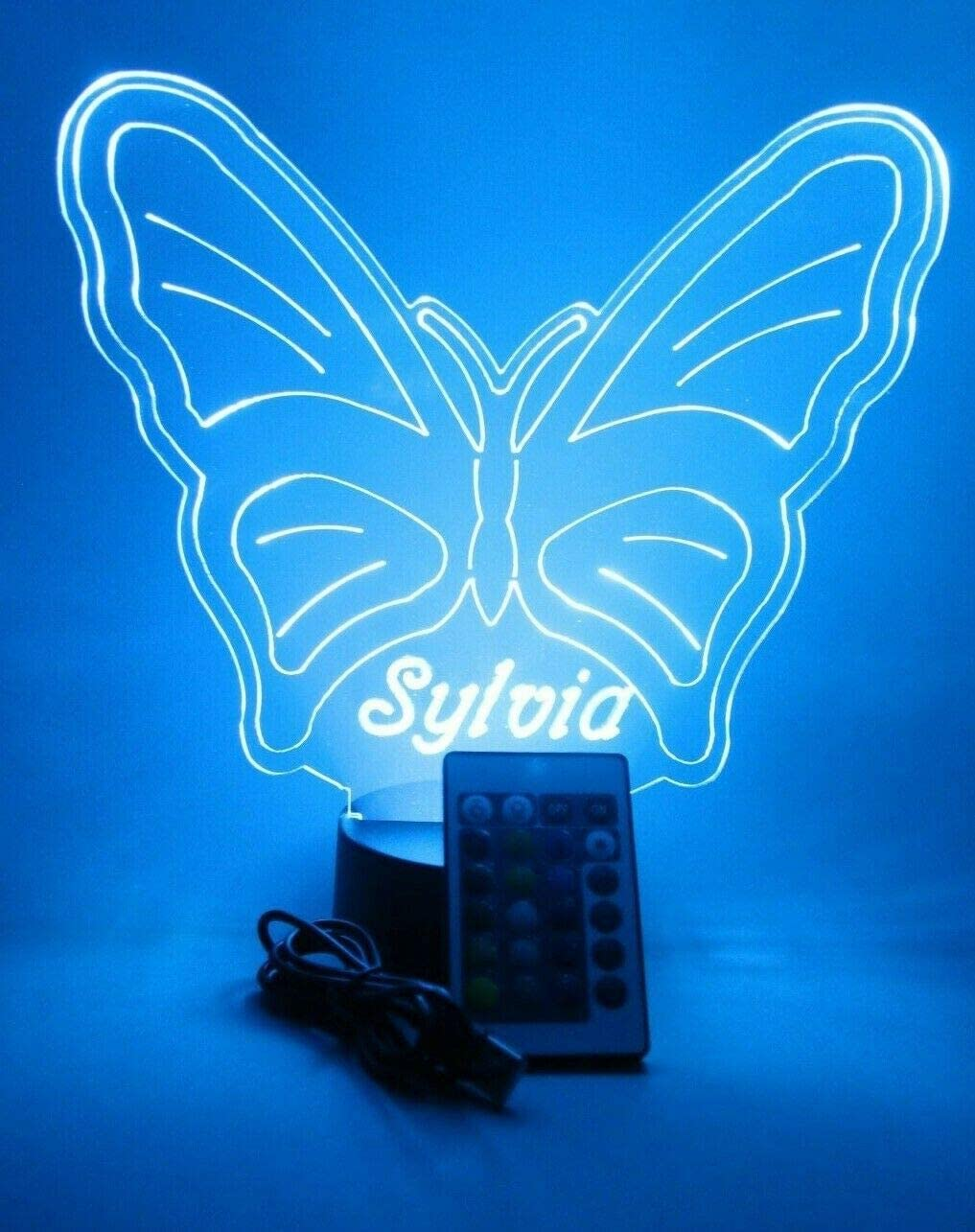 Butterfly Light Up 5% OFF Lamp LED Newest Table Personalized Our Max 73% OFF