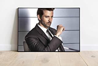 Hrithik Roshan Actor Photo Poster Art Print Unframed Poster Wall Art Print Gift Poster Canvas Printing Wall Decor Size - 1...