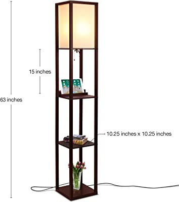 Amazon Com Lite Source Ls 81455ab Lantern Floor Lamp