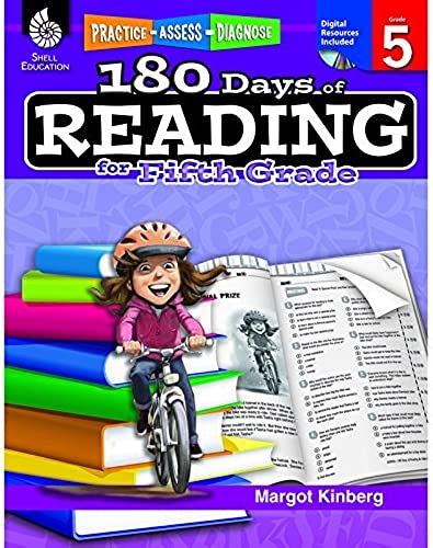 180 DAYS OF READING BOOK FOR FIFTH by EDR