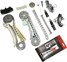 MOCA Timing Chain Kit for 05-10 Ford Mustang & 97-10 Ford Explorer & 98-10 Mercury Mountaineer & 01-08 Mazda B4000 4.0L V6 SOHC 12 Valve