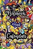 Notebook Simpsons Calendar 2021 Special Edition