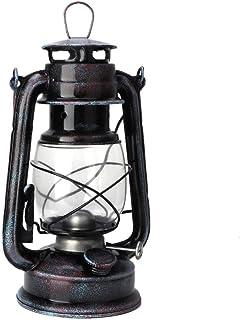 Qiilu ランタン 灯油ランプ ハンドランタン クラシック ビンテージ 24cm ポータブル