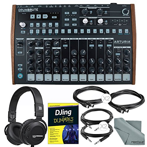 Check Out This Arturia DrumBrute Analog Drum Machine and Deluxe Bundle w/Beyerdynamic Custom Street ...