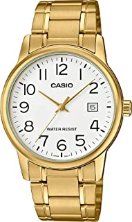 Casio Men's MTPV002G-7B2 Gold Stainless-Steel Quartz Fashion Watch