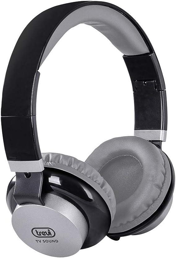 Trevi HTV636 TV Kopfhörer mit Lautstärkeregler 5 m Kabel HiFi Ohrhörer die Nutzu