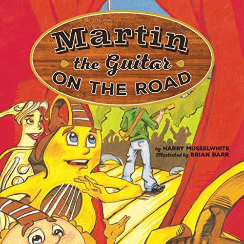 Martin the Guitar on the Road Titelbild