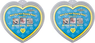 Midwest Products Large Heart Stepping Stone Mold, 12-Inch (2 Pack)