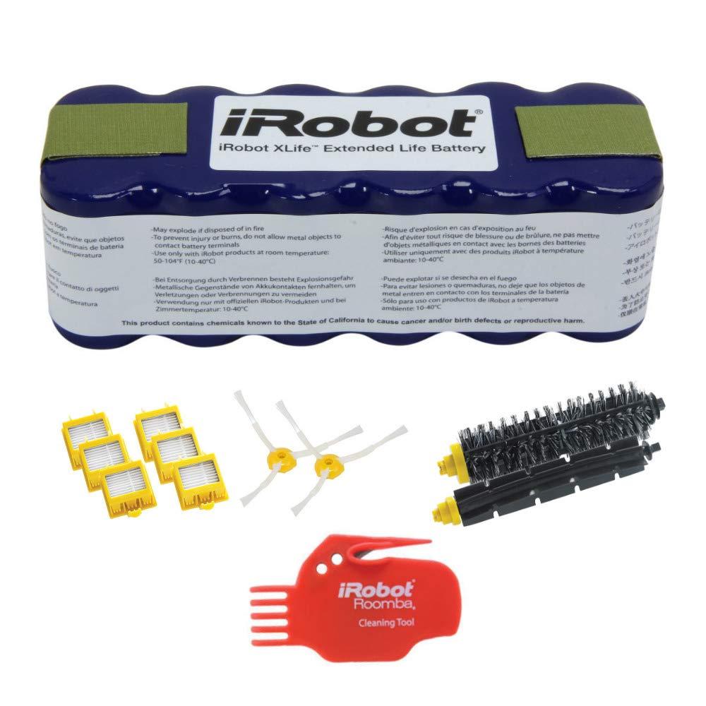 iRobot 4419696 XLife Batería de Larga duración con 4503462 Kit de reposición para 700 Series aspiradora Roomba: Amazon.es: Hogar