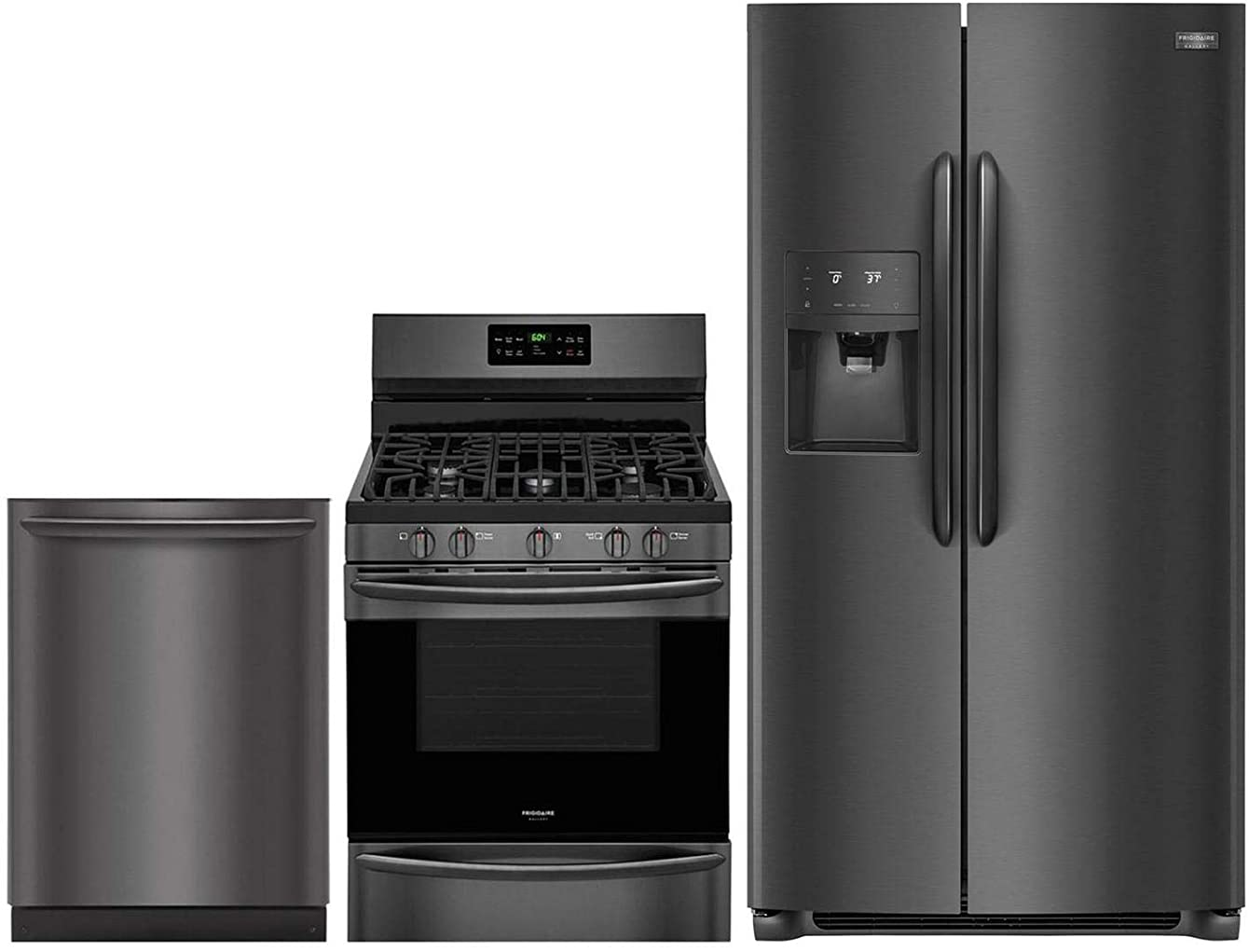 Frigidaire 3 Piece Kitchen Appliance Package with FGSS2635TD 36