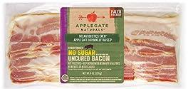 Applegate, Natural No Sugar Uncured Bacon, 8oz