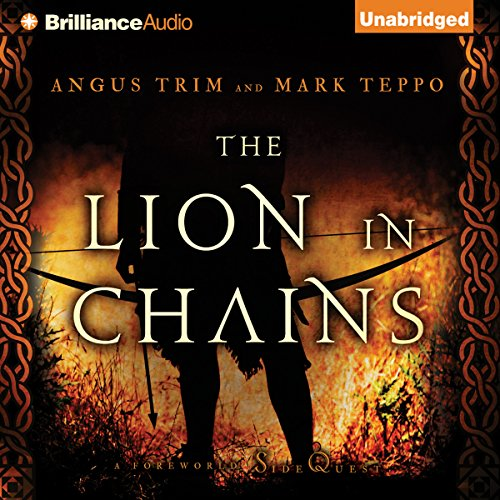 The Lion in Chains audiobook cover art