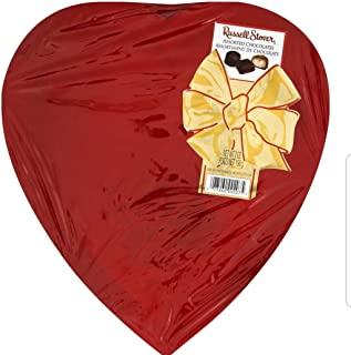 Russell Stover Red Foil Heart, 7 oz.