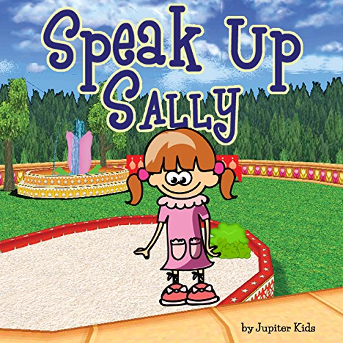 Speak Up Sally audiobook cover art
