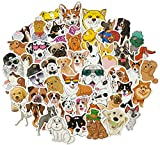 Dog Stickers Pack , Dog Stickers for Laptop, Flask, Water Bottles, Phone Cases , Dog Stickers for Kids Teens , Cute Funny Waterproof Vinyl Stickers (50Pcs/Pack)