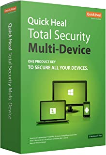 Quick Heal Total Security Multi Device 1 Year 3 Devices (CD)
