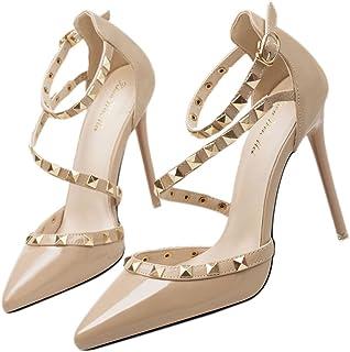 Para Amazon De Tacón Mujer esXianshu Zapatos WDIH2E9