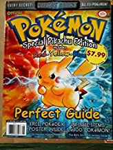 Versus Books Official Pokemon Perfect Guide Includes Red Yellow Blue Special Pikachu Edition