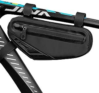 Cool Change Bike Bag Top Tube, Bike Frame Bag Triangle Waterproof Bicycle Under Tube Bag for MTB...