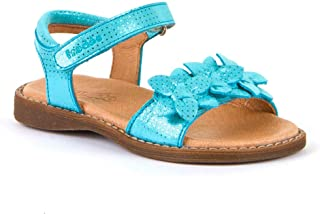 Froddo Sandales pour fille - Beige - Turquoise - turquoise
