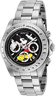 Invicta Unisex-Adult Quartz Watch, Chronograph Display and Stainless Steel Strap 25192