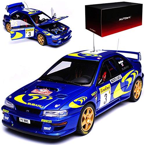 bester Test von subaru impreza wrx sti Autoart Subaru Impreza WRX STI WRC Rallye Colin McRae Rallye Monte Carlo Monaco 1997897901/18 Modellauto