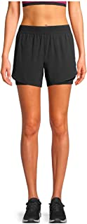 Avia Activewear Women's Running Short with Pocket Bike Liner