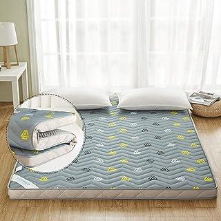 Alfombra de Tatami Japonesa,Plegable Colchón Suelo, Grueso Acolchado Suave Antiescaras Colchón futon Dormir Mat para Dormitorio Alcoba,1.5 * 2.0m