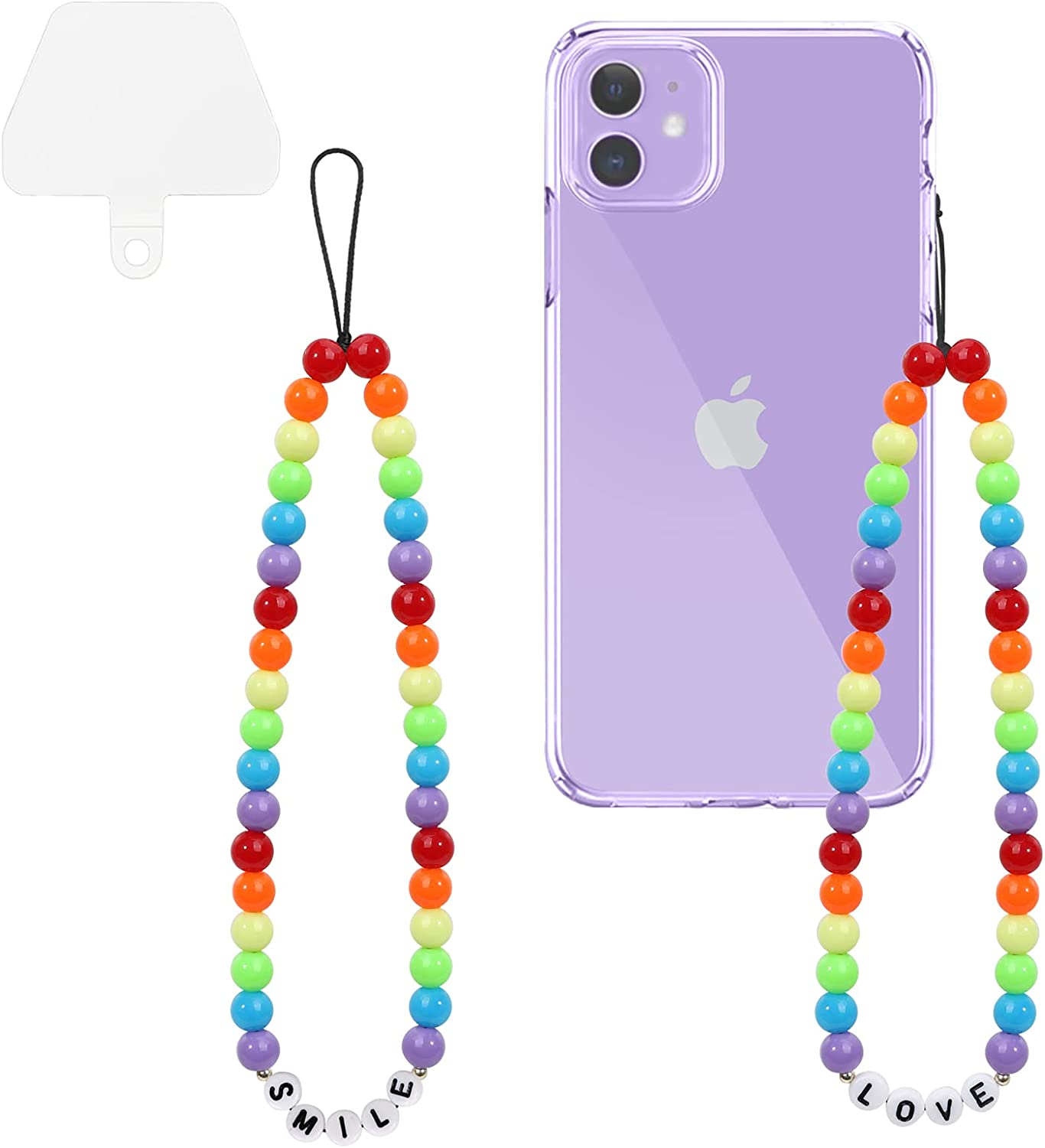 Wrist Lanyard Max 57% OFF YUOROS 2 Pack Cell Car 5% OFF Phone Charms Bead