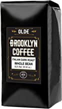 ITALIAN Dark Roast Whole bean – 5 LB Extra Strong Coffee - The World's Strongest Coffee Beans   Classic Black Coffee, Breakfast, House Gourmet, Italian Espresso- Roasted in New York