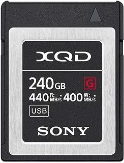 Sony Professional XQD G Series 240GB Memory Card (QD-G240F)