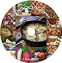 50,000 Recipes and Crafts on CD bath body spa cooking cleaning baskets jar
