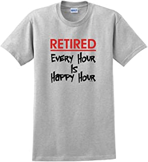 ThisWear Retired Every Hour is Happy Hour T-Shirt