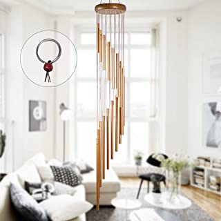 """OCACA Wind Chimes for Outside, 36"""" Large Tuned Piano Wind Chime with 18 Aluminum Alloy Tubes, Memorial Sympathy Gift for M..."""