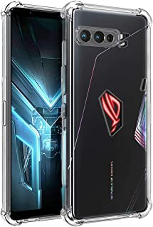 Osophter for Asus ROG Phone 3 Case,Asus Zenfone ZS661KS Case Clear Transparent Reinforced Corners TPU Shock-Absorption Fle...
