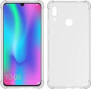 TIYA Huawei Nova Lite 3 ケース クリア ファーウェイ Honor 10 Lite 柔らかい TPU 薄型 いエアバッグ 透明