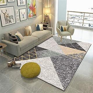 Ommda nowoczesny geometryczny nadruk dom podłoga designerski dywan antypoślizgowe dywaniki do salonu 7 mm 40 x 60 cm
