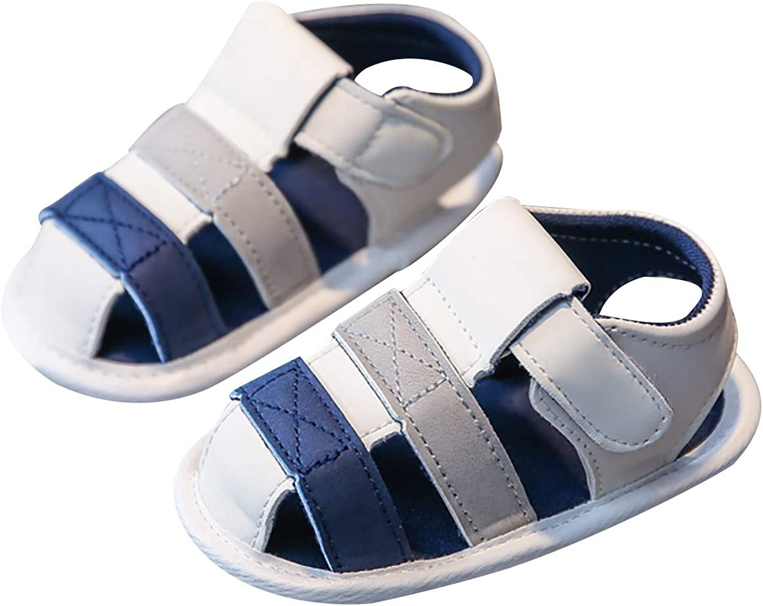 Tzbawt Fashion Girls Baby Boys Flat with Cute Beach Summer Sandals Toddler Soft Shoes