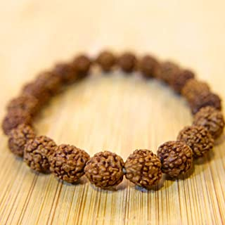 Petrichor 5 Mukhi Rudraksha Bead Bracelets (Pack of 2) Daily Fashion Wear