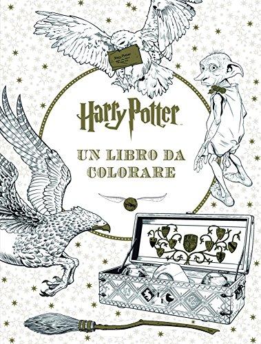 Harry Potter. Un libro da colorare. Ediz. illustrata