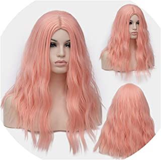 Similar 18 inch Afro Women Kinky Straight Short Wigs Blue Pink Brown Synthetic Hair Heat Resistant 29 Colors Available,#16,18inches