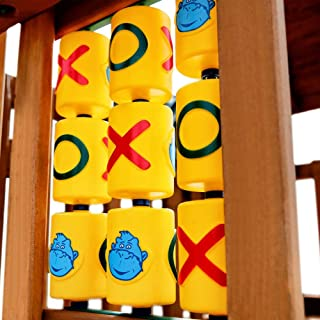636643 Gorilla Playsets Tic-Tac-Toe Spinner Panel Swing Set Accessory
