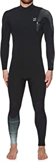 Billabong Mens 3/2mm Furnace Carbon Comp Zipperless Wetsuit in Black Fade - Carbon Lining and Engineered Stretch Easy Stretch