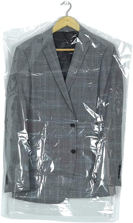 10Pcs Transparent Plastic Garment Clothe 35.4inch New color Cheap SALE Start Hanging Covers